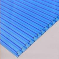 Transparent PC Plastic Hollow Roofing Sheets