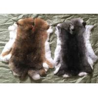Buy cheap White Fluffy Hairs Rex Rabbit Skin Fur Hides Warm Comfortbale For Garments from wholesalers