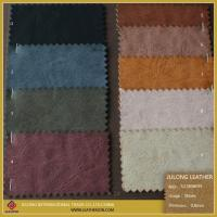 China Colorful Fabric Leather Fabric Synthetic Leather for Shoe or Sofa wholesale