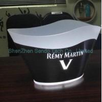 Buy cheap 12L stainless steel LED ice bucket from wholesalers
