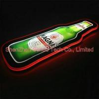 Buy cheap Bottle shape led sign from wholesalers