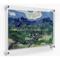 Buy cheap Large wall mounted acrylic photo frames AFL-028 from wholesalers