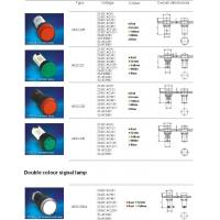 PUSHBUTTON AD22 LED SERIES INDICATOR LAMPS AD22-22B