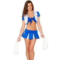 China Lady Sexy Cheerleading Halloween Costume Uniforms on sale