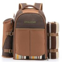 China Picnic Backpack Bag for 4 Person With Cooler Compartment wholesale