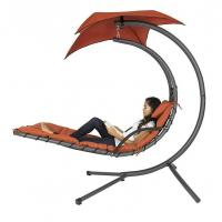 China Hanging Chaise Lounger Chair Arc Stand Air Porch Swing Hammock wholesale