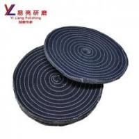 abrasive jeans cotton grinding wheel for metal/stainless steel/ hardware