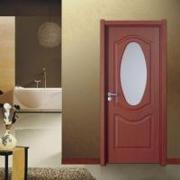 Bathroom Interior Door with Glass Are Competitive Cheap Doors