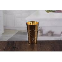 Buy cheap Embossed gold candlesticks fancy candle holders for sale from wholesalers