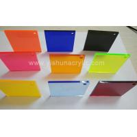 semitransparent color acrylic sheet