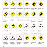 China Construction Road and Traffic Signs and Meanings More Type Specifications on sale
