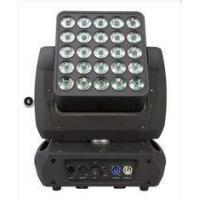 China Led Moving Head Light 25PCS 12W 4in1 Matrix Limitless / Wash Blinder Lighting on sale