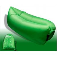 China Outdoor Fast Inflatable Laybag Air Sleeping Lazy Bag Hangout Lounger Sofa wholesale
