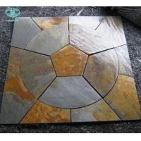 China Copper/Rusty Slate Circle For paving wholesale