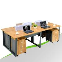 China Double Sided Office Desk for 4 Person wholesale