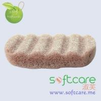 Softcare indian red cleansing Konjac sponge for body cleansing