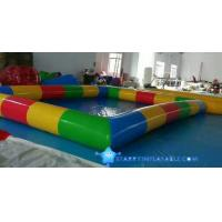 0.9mm Durable PVC Inflatable Water Pool Used In Shopping Mall