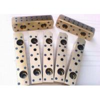 Wholesale Solid Lubricant Cast Bronze Bearings Silde Block With Immediate Running Velocity from china suppliers