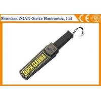 Quality Government Hand Held Security Metal Detectors , Professional Metal Detectors for sale