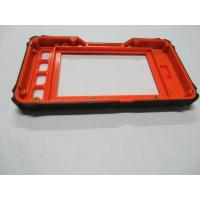 China 2 shots over mold manufacturers Electronic Plastic Covers Overmolding metal insert wholesale