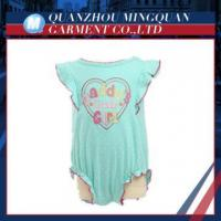 baby grils bodysuit words new design