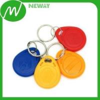 China Plastic Gear ABS Rfid Key Chain ID Card Tag wholesale