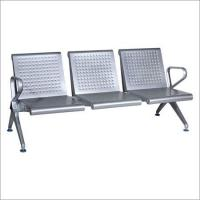 China Stainless Steel Three Seater Waiting Chair wholesale