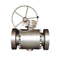 Ball valve Flange connection fixed ball valve