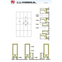 Wholesale 125 150 180 Structural Drawing of Hidden Frame Curtain Wall Series (Single Glass) from china suppliers