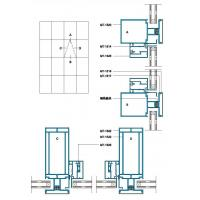 Wholesale 150 200 Structural Drawing of Exposed Frame Curtain Wall from china suppliers