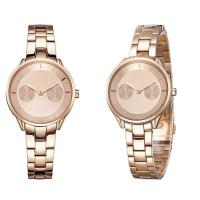 China 50m Waterproof Rose Gold 316L Stainless Steel Band Bracelet Women's Watch on sale