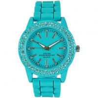 Silicone Watch Geneva Latest Ladies Watches with Price Alloy Watch for Women Sale