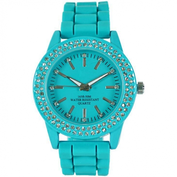 Quality Silicone Watch Geneva Latest Ladies Watches with Price Alloy Watch for Women Sale for sale