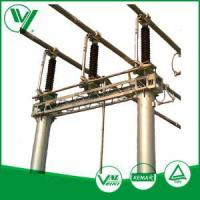 Electrical & Electronics Jw-126 Outdoor Mounted Three - Poles High Voltage Isolating Switch