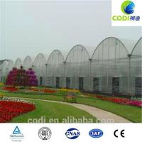 Wholesale Film Greenhouse for intensive agriculture/Plastic tomato and other vegetables from china suppliers