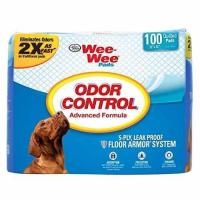 """China 100 Ct 22 """" inch X 23"""" inch - Four Paws Wee-Wee Odor Control Pads wholesale"""