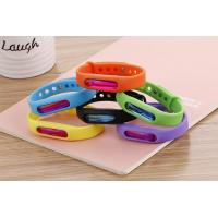 China Bracelet Deet free mosquito defense repellent silicone bracelet band wholesale