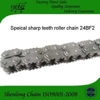 China ISO 24B-1 roller chain with sharp teeth plate both side on everyout link--24BF2 on sale