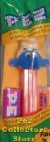 China Vintage No Feet Pez NF Smurf A Pez with Tongue on Red 3.9 Austria Stem MIB wholesale
