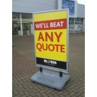 Wholesale Graphics Poster Holder forecourt signs from china suppliers