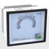 China Analogue Panel Meter Phase Sequence Meter on sale