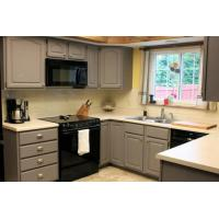 China Pictures Of Painted Kitchen Cabinets wholesale
