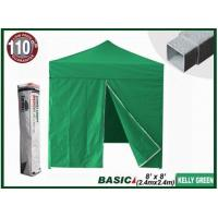 China BASIC 8x8 Canopy Tent + 4 Zipper Walls (Select Color) wholesale