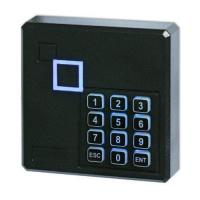 China Generic Weatherproof 125KHz Wiegand 26 26bit Access Control Keypad RFID Reader Color Black wholesale