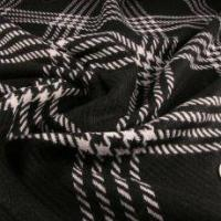 Alexander Henry Black and White Wool Coating