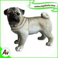 China Super submersible pump resin Pug Dog Statue/Sculpture for decoration wholesale