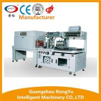China Fully-Automatic L Type Sealer Heat Tunnel Pallet Shrink Wrapping Machine wholesale