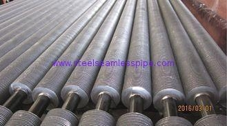 China A213 T22 Finned Pipe Heat Exchanger Fin Tube Solid Type Cold Drawn