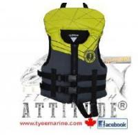China MUSTANG YOUTH LIFE VEST FLOURESCENT YELLOW IN CANADA on sale
