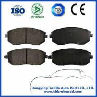 China Subaru Legacy EMark Semi Metallic Durable Brake Pad with Metal Shim on sale